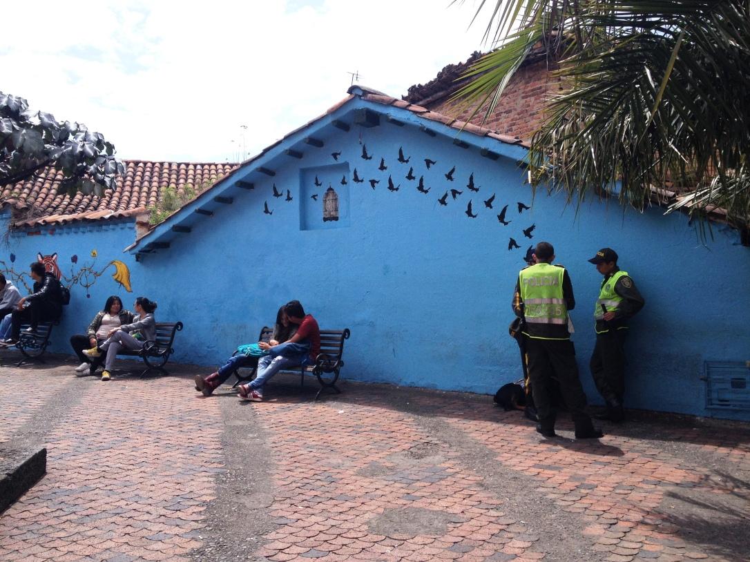 La Candelaria, street art - Bogota
