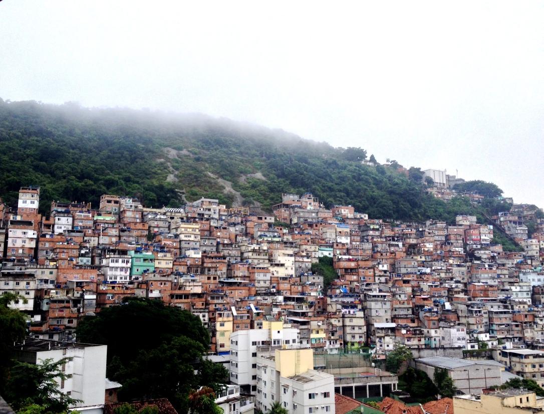 Brésil, favelas