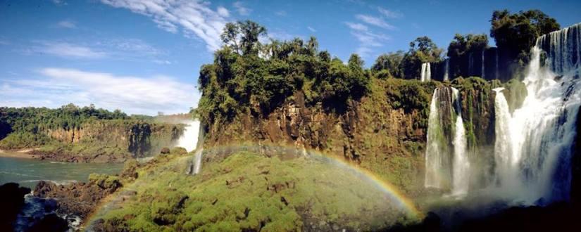 Chutes d'Iguazyu, frontière Brésil, Argentine et Paraguay, amérique du sud et latine