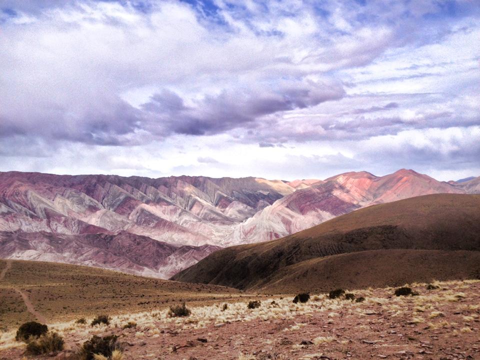 Montagnes du nord de l'Argentine, Amérique du sud, latine