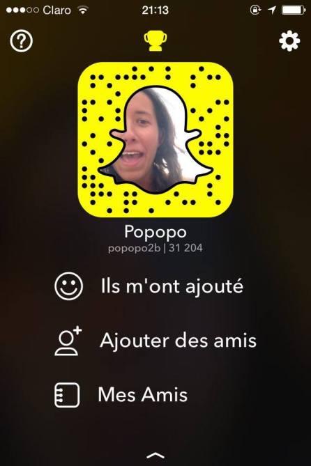 Snapchat Pauline Escobar