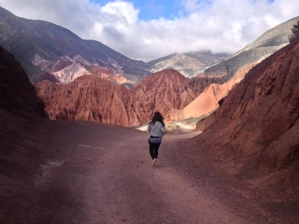 Nord de l'argentine, montagnes, frontière bolivie, amérique latine, amérique du sud