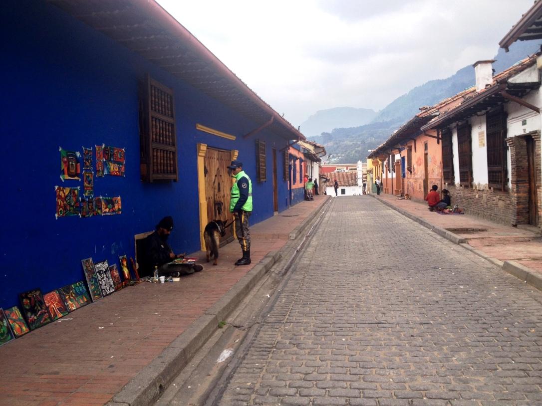 La Candelaria, Bogota, colombie, graffiti, street art, amérique latine, amérique du sud, sécurité, danger, pauvreté