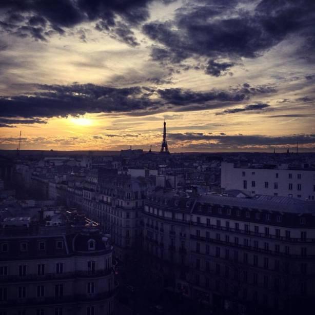 Vue Paris toit