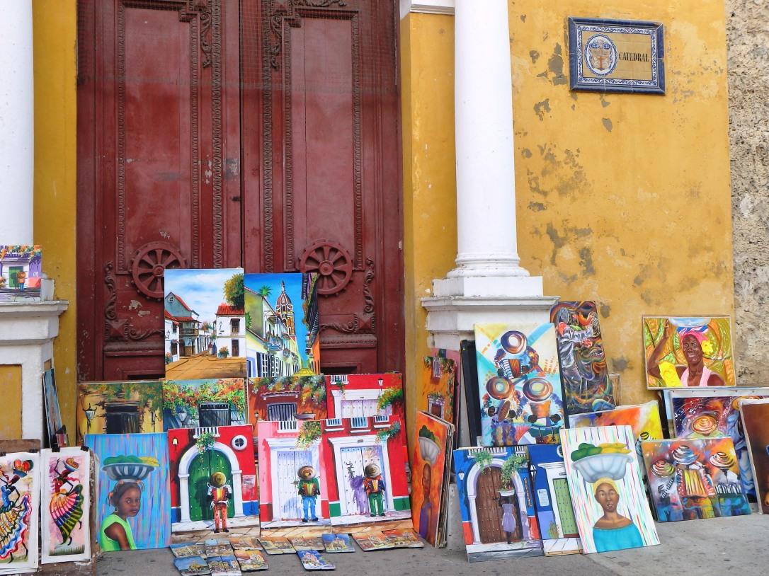 Carthagene, Colombie, caraïbes, amérique du sud et latine, pauvreté, sécurité, danger, clochard, SDF