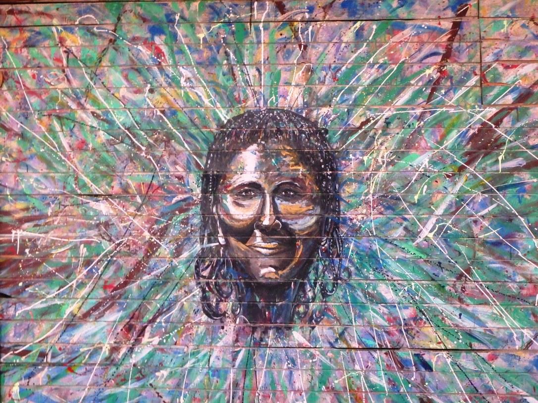 Baru Island - street art, graffiti - carthagène, colombie - amérique du sud, amérique latine