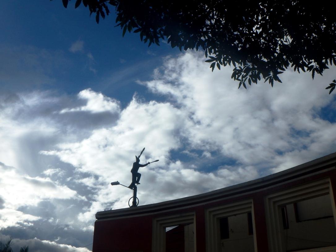 La Candelaria, place du Chorro, à Bogota, en Colombie. Amérique du sud/ latine. Parler espagnol comme un bogotanais/colombien