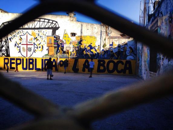 Republica de la boca, Buenos Aires, Amérique du sud