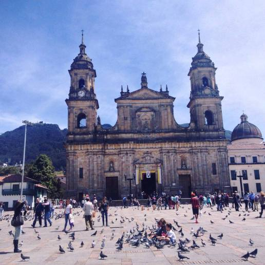Plaza Bolivar, Bogota, Colombie, Amérique du sud