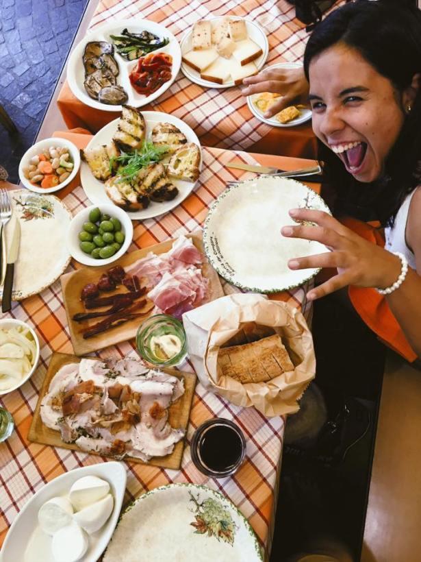 Nourriture en France vue par une Argentine