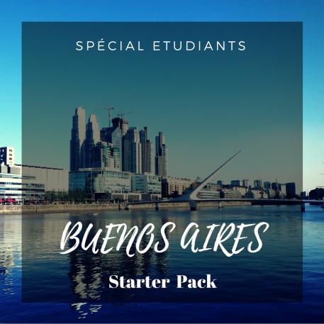 BUENOS AIRES STARTER PACK: étudiant