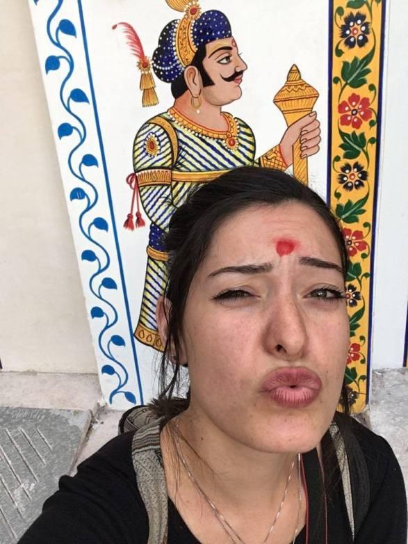 Selfie indien