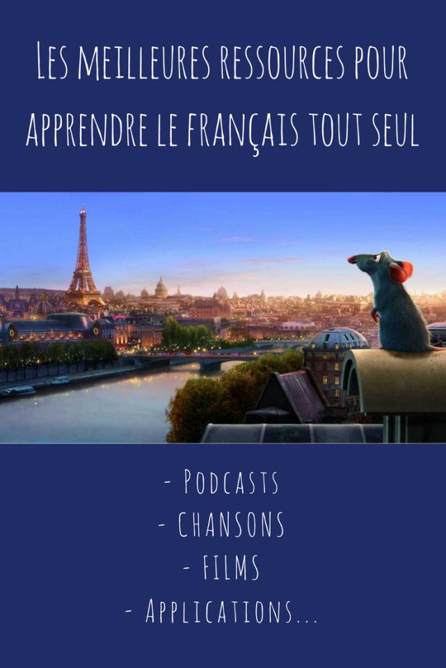 les meilleures ressources pour apprendre le français tout seul