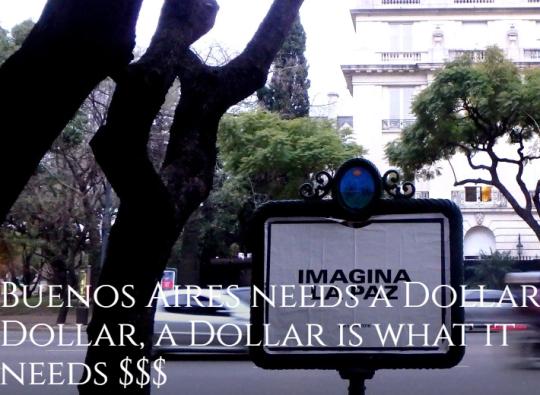 Situation financière et économique à Buenos Aires en Argentine