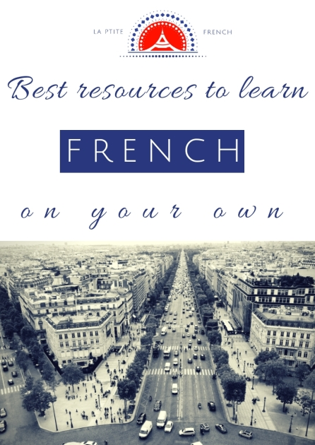 apprendre le français tout seul - learn french on your own