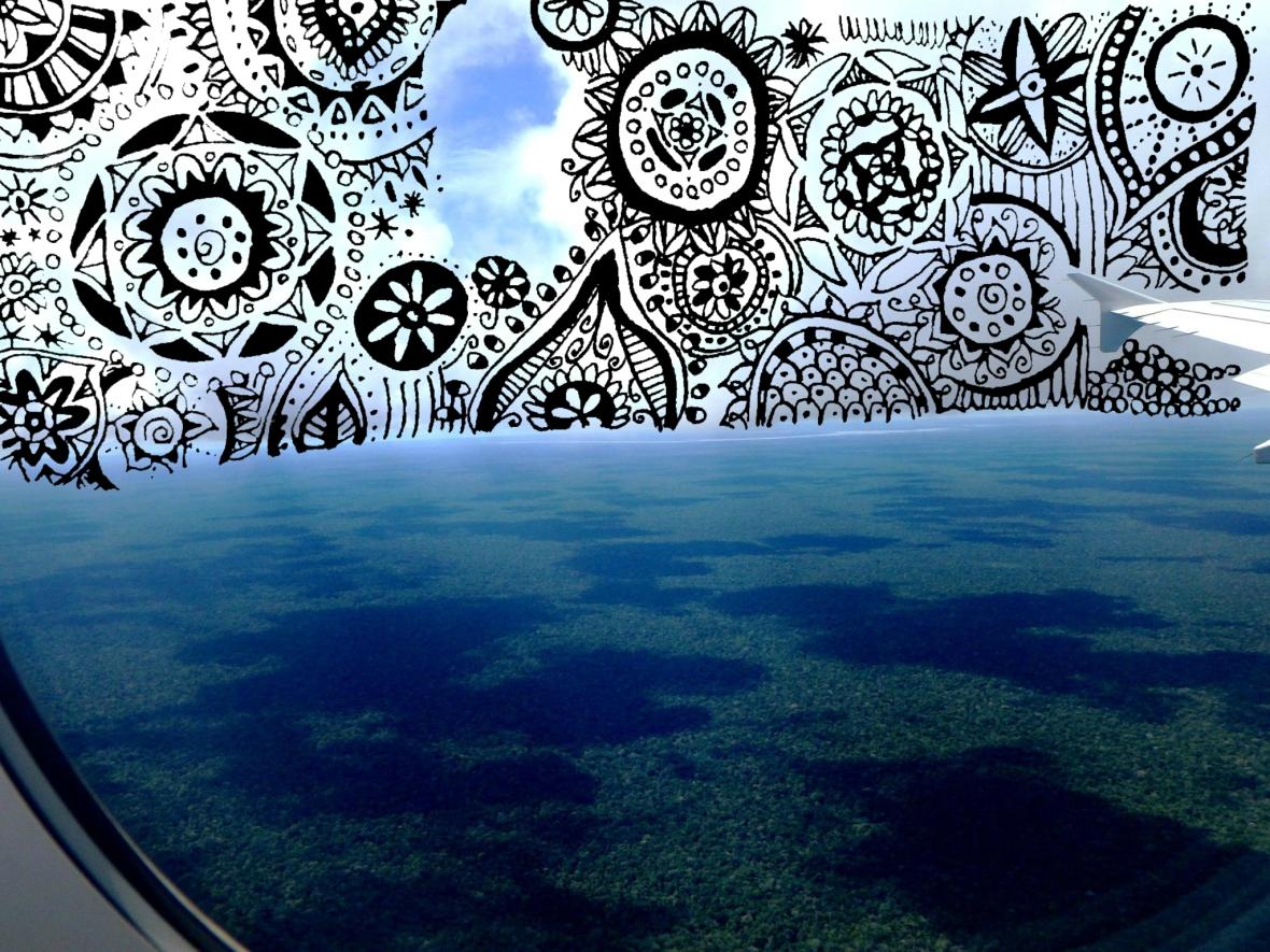 doodle samazonie amérique du sud