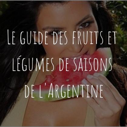 fruits et légumes de saison - Buenos Aires - Argentine