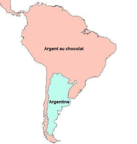 argentine argent au chocolat meme amérique latine