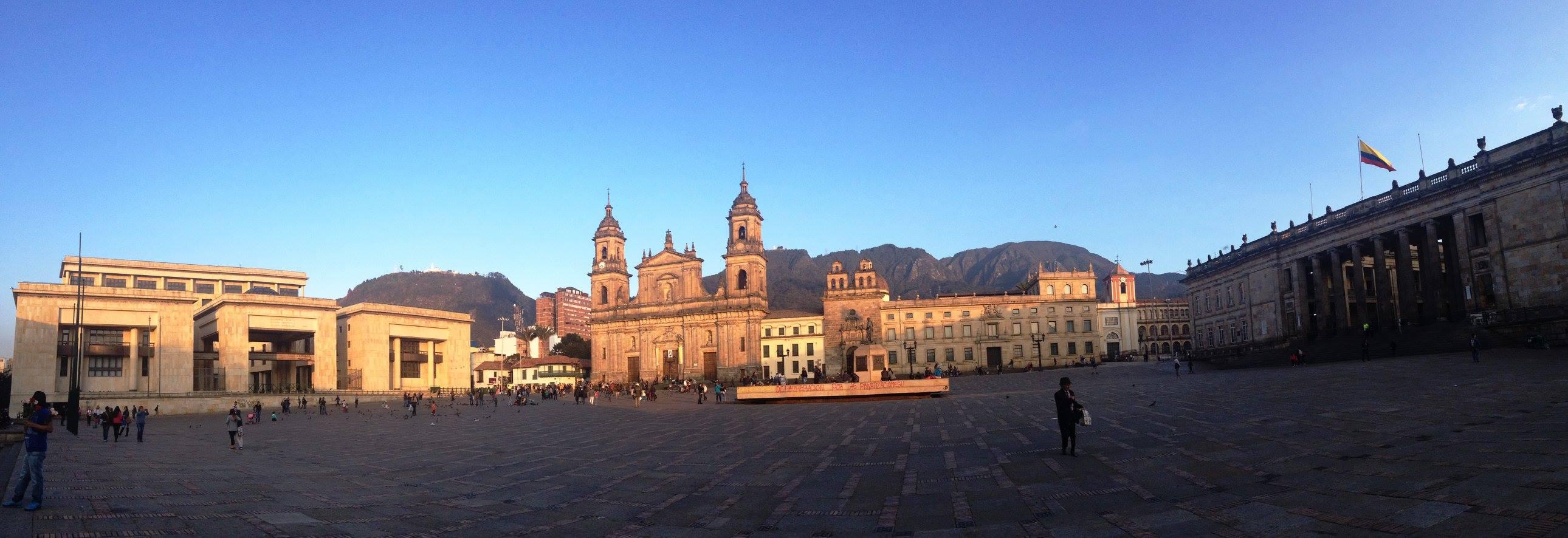 plaza bolivar colombie bogota