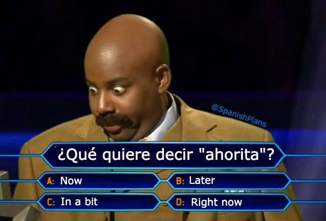 ahorita meme amérique latine humour drôle
