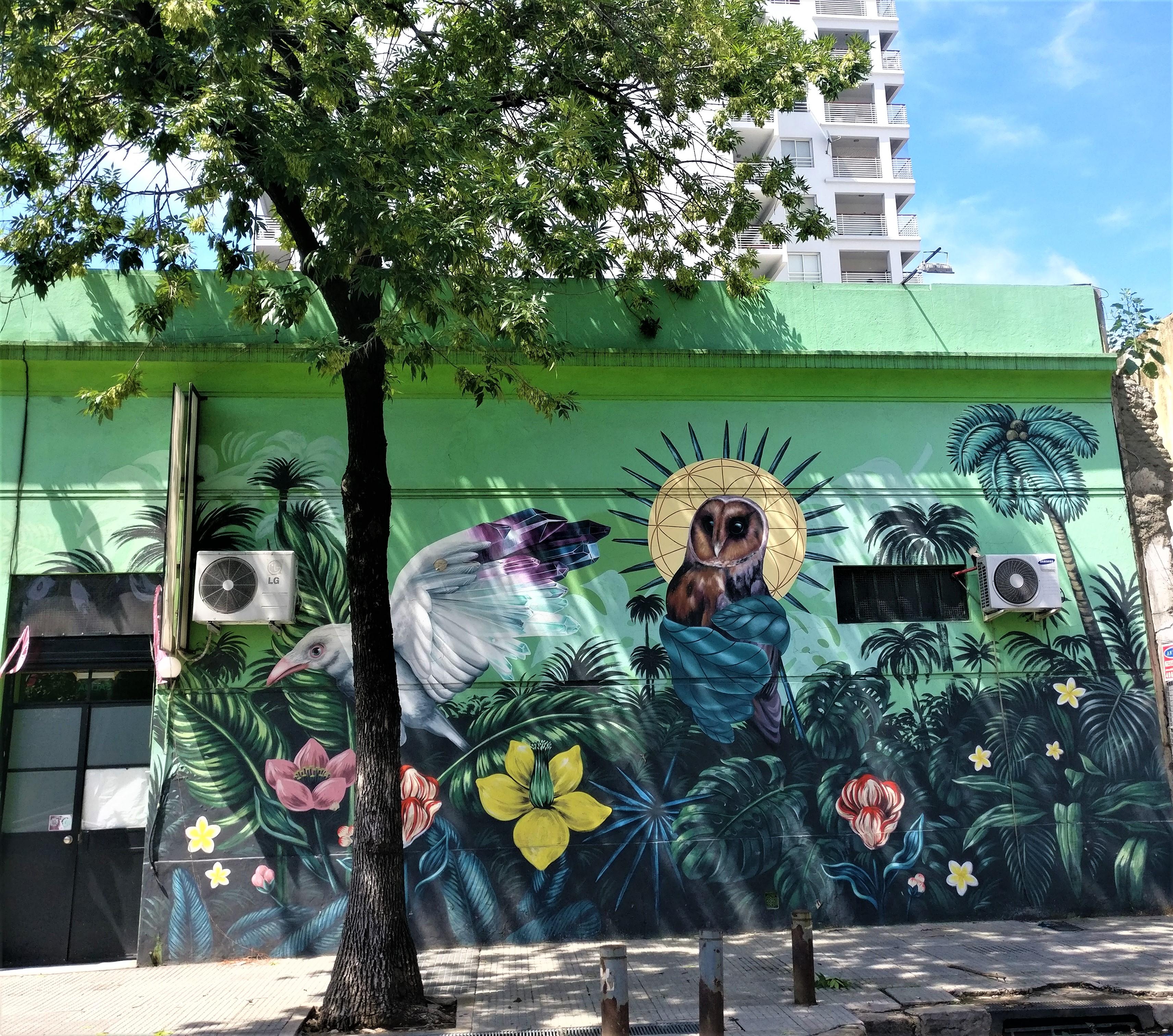 Buenos aires graffiti amérique latine