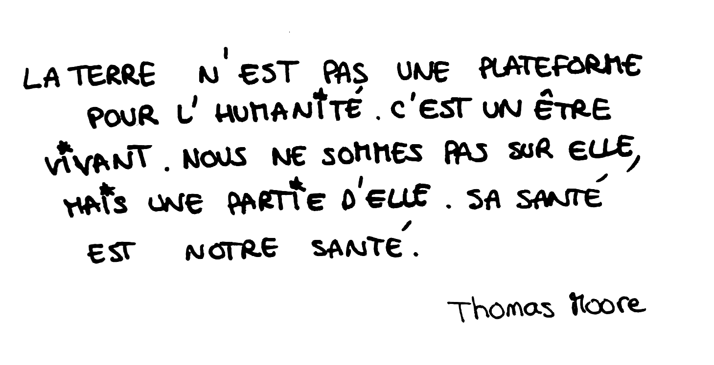 citation nature thomas moore la terre