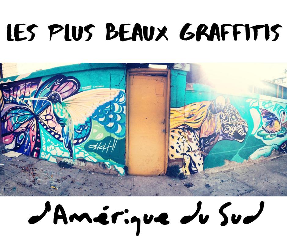 Les plus beaux graffitis d'Amérique du sud