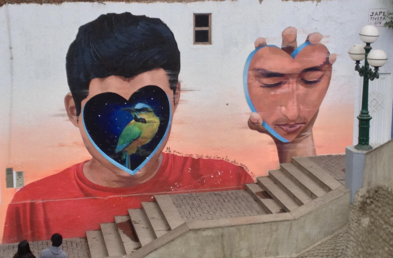 lima, pérou, graffiti