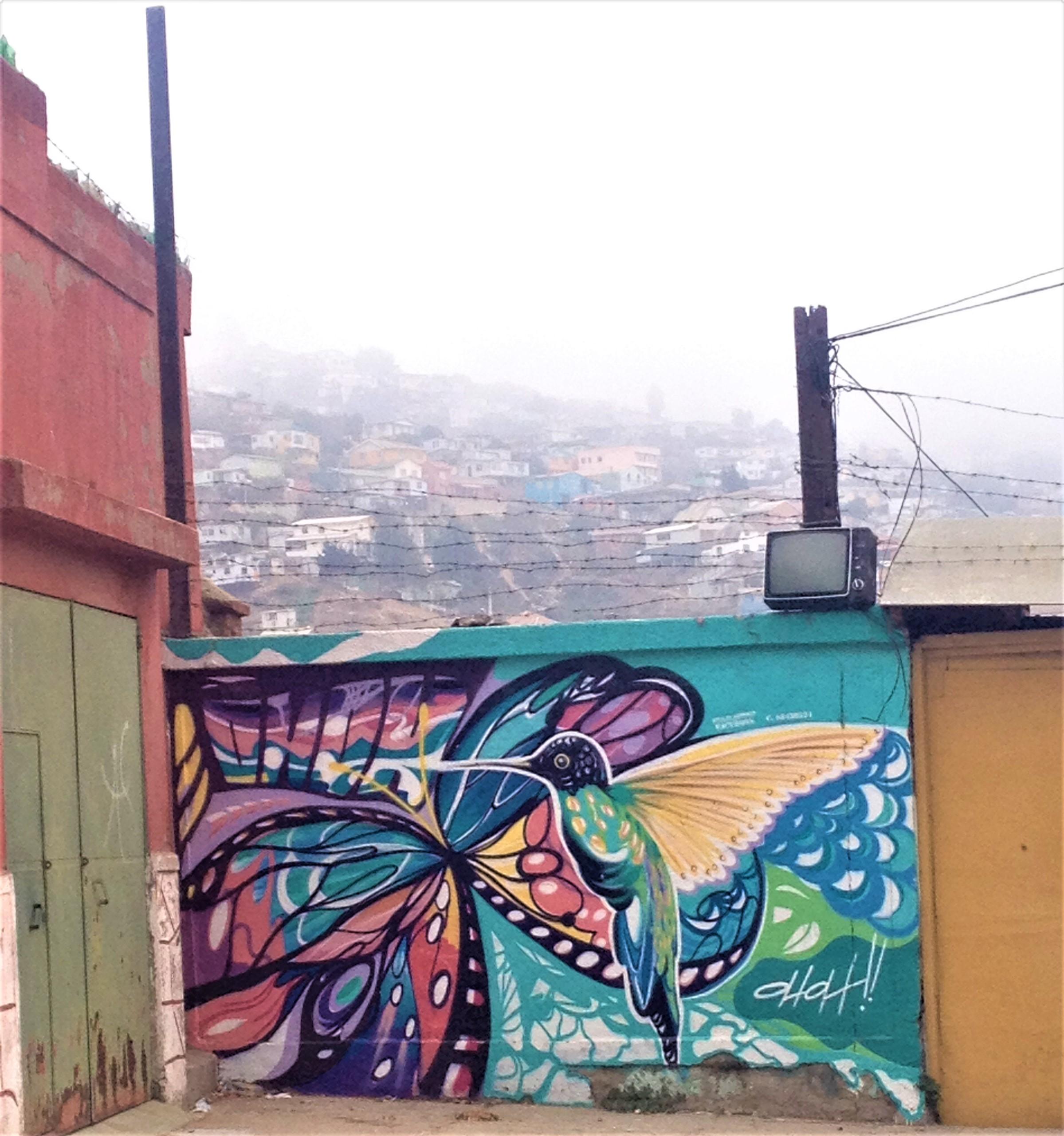 valparaiso, chili, amérique du sud
