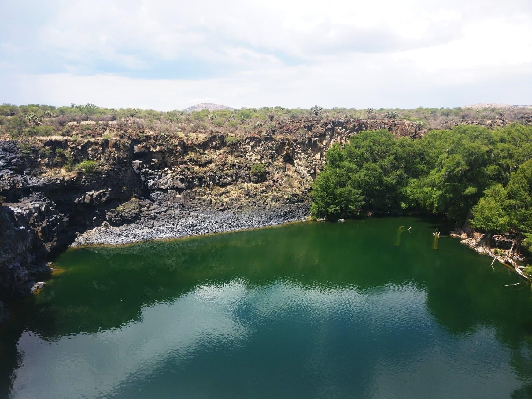 saltito sans eau durango cascade