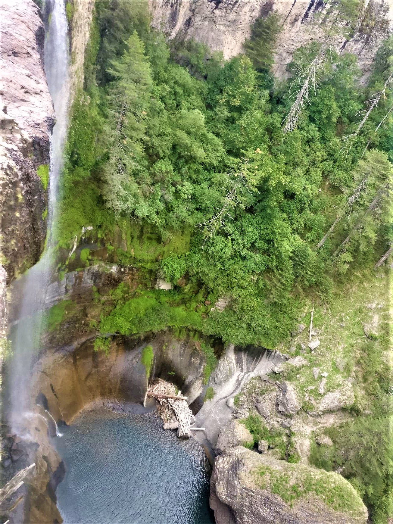 salto agua llovida cascade durango mexique