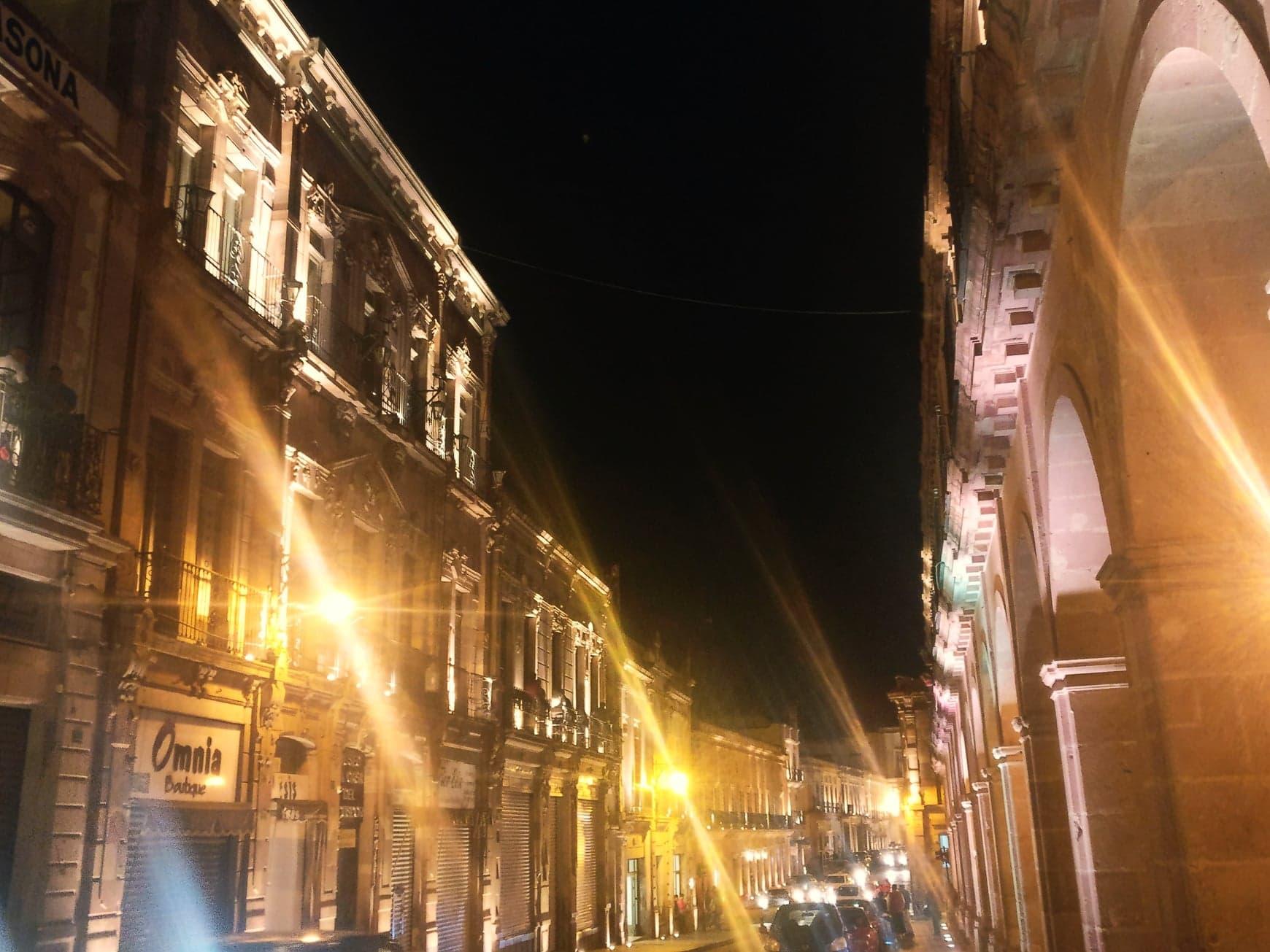 nuit zacatecas mexique
