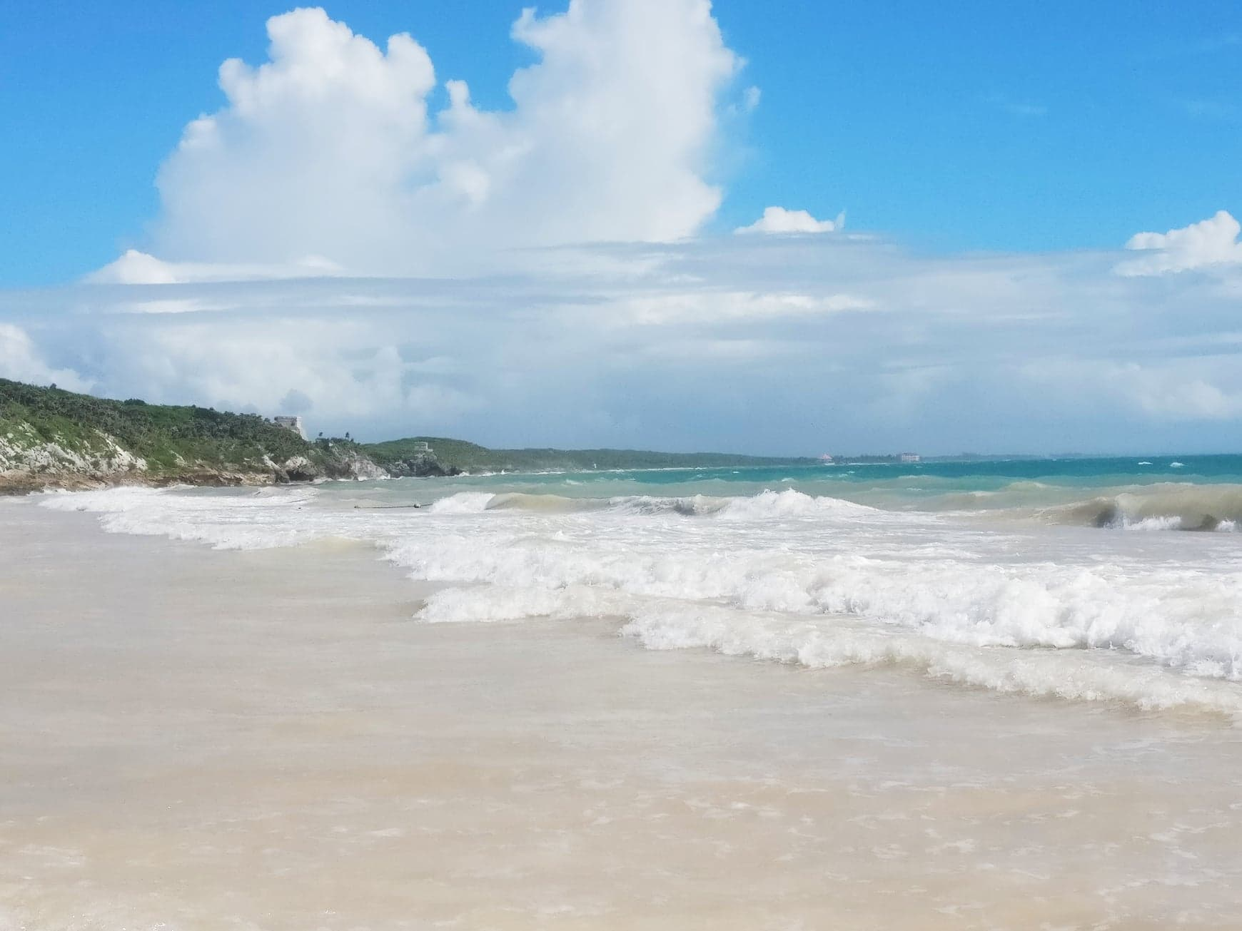 playa pescadores, tulum, mexico