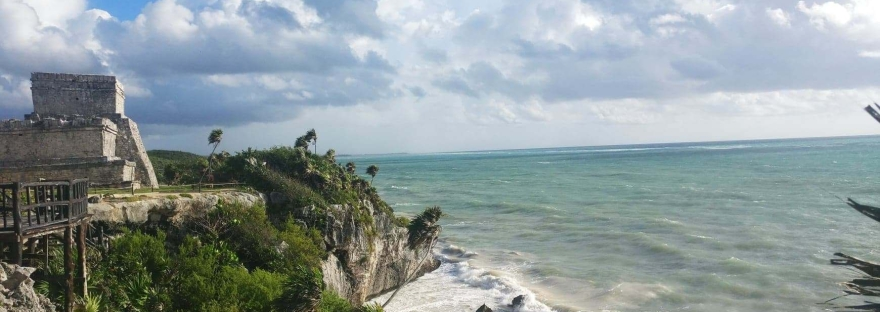 ruines mayas tulum mexique