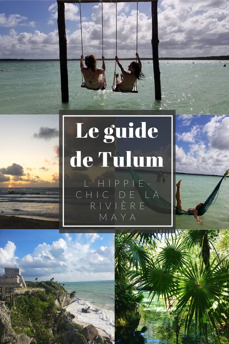 le guide de tulum, rivière maya, cancun, mexique