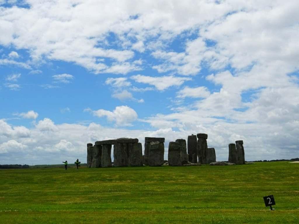 Stonehenge gratuit en prenant un chemin