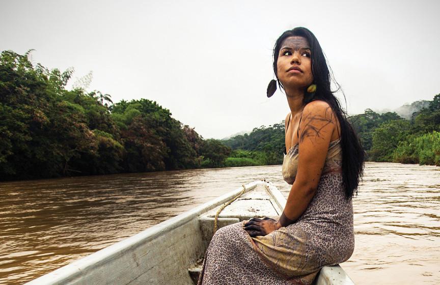 Nina Gualinga Amazonie défense militant protection